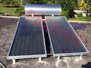 Natural Circulation Solar Panel Heating System 300L Aluminum And Copper Absorber Sheet