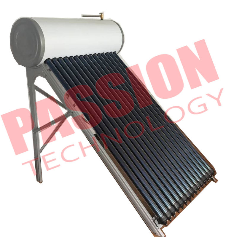150L Energy Saving Integrative Pressurized Rooftop Heat Pipe Solar Water Heater