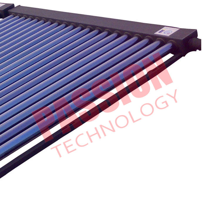 CE High Efficiency Balcony Mounting Stainless Steel Reflector Heat Pipe Solar Collector