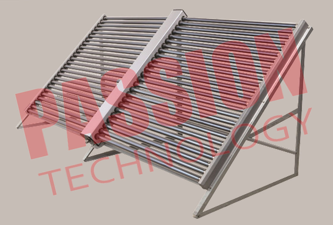 Eco Friendly Evacuated Solar Tube Collectors , Solar Hot Water Collector Easy Install