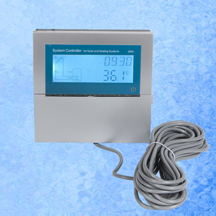 White Solar Thermal Controller , Solar Heating Controller For Split Pressurized Solar Water Heater